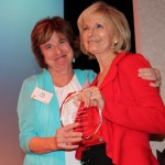 Liz Kennedy helps honor Sandy with YMCA Community Impact Award