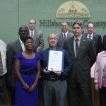"Sandy honors the first national ""Above the Influence"" Day with a proclamation presentation to members of the Hillsborough Prevention Collaborative and Hillsborough County Criminal Justice"