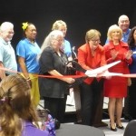 Commissioner Sandy Murman attends the ribbon-cutting ceremony for the Ruskin Firehouse Cultural Center, along with the FCC Board of Directors, Commissioner Ken Hagan and leaders of the South Shore arts community.