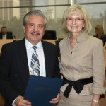 Sandy recognizes Antonios Markopoulos for restoring the historic Floridan Palace Hotel in Downtown Tampa