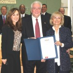 Commissioner Sandy Murman honors Ron Hytoff for his years of leadership at Tampa General Hospital. Sandy presented him with a Commendation at a BOCC meeting. Under his leadership TGH is one of the top hospitals in the nation.