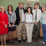 Sandy proclaimed International Internal Audit Awareness Day in Hillsborough County. Members from the Institute of Internal Auditors were on hand to receive the proclamation.