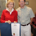 Sandy honors John Kirtley with Commendation at BOCC