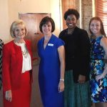 Commissioner Sandy Murman attends the Lions Eye Institute event.