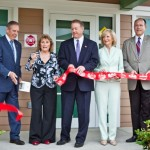 Sandy helped dedicate the Hillsborough County Children's Services Girls Shelter at the agency's Lake Magdalene campus as the Mary Jane Martinez Cottage.