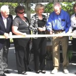 Commissioner Sandy Murman helps dedicate Shimberg Gardens in Town 'n Country along with Rob & Fran Gamester, Hinks Shimberg and Congresswoman Kathy Castor