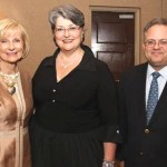 Sandy honored the South Tampa Chamber of Commerce at its Inaugural Awards Gala for Business of the Year. From left are Commissioner Murman, Judy Gay and Tampa City Councilman Harry Cohen.