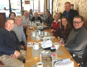 "Commissioner Murman hosts Coffee ""Friendraiser"" for new USO Tampa Bay at Nola's Second Line Cafe; The new USO is located at Tampa International Airport"