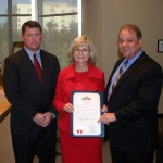 Sandy honors Tampa Bay Workforce Alliance at BOCC