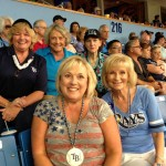 Commissioner Sandy Murman attends a Tampa Bay Rays baseball game with fellow former Florida House members Carole Cripe Green, Heather Fiorentino, Leslie Waters and Senator Nancy Detert.