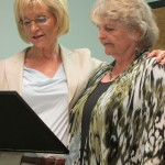Sandy honors Maureen Kelly on her retirement from public service, and her many years of hard work and tireless effort to address the needs of older adults.