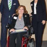 Commissioner Sandy Murman commends Sandra Sroka for serving Hillsborough County as its ADA Coordinator and HIPPA Compliance Officer, and for being a tireless advocate for people with disabilities. Mayor Bob Buckhorn also honored Sroka.