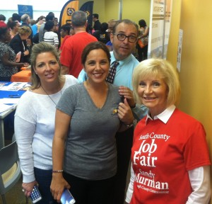 The SouthShore Chamber at Commissioner Sandy Murman's 2014 South County Job Fair