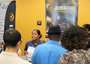 Amazon at Commissioner Sandy Murman's 2014 South County Job Fair