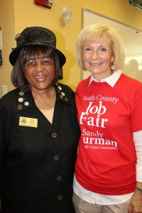 Chloe Coney at Commissioner Sandy Murman's 2014 South County Job Fair