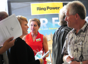 Ring Power at Commissioner Sandy Murman's 2014 South County Job Fair