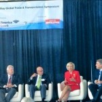 Sandy serves as a panelist for the Global Trade Symposium held at the Port. Other panelists included Assistant FDOT Secretary Rich Biter, Tampa International Airport CEO Joe Lopano, and Port President and CEO Paul Anderson.
