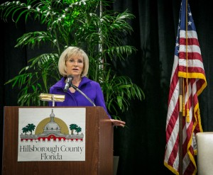 Commissioner Murman spoke to business leaders at the Hillsborough County Access to Capital Summit which provided practical information to local businesses and entrepreneurs to help increase their awareness, preparation and access to capital.