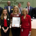 Commissioner Sandy Murman proclaimed February as American Heart Month in Hillsborough County. Since 1968 the American Heart Association has helped reduce deaths from heart disease and stroke by 70%.