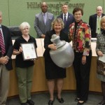 Sandy recognized the Repurposed DooDad Sculpture Competition through Hillsborough County Schools on its 5th Anniversary, for nurturing a love of the arts for generations of young residents in Hillsborough County.