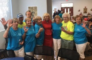 Sandy helped kickoff the 36th Annual Tampa Bay Senior Games sponsored by Hillsborough County, the City of Tampa, and the City of Temple Terrace. Commissioner Murman took a moment to talk with the Port Tampa team.