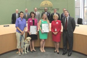 Sandy proclaimed Guardian Ad Litem Volunteer Day in Hillsborough County to encourage all residents, community agencies, faith-based organizations and businesses to show respect and gratitude for the program and Voices for Children volunteers.