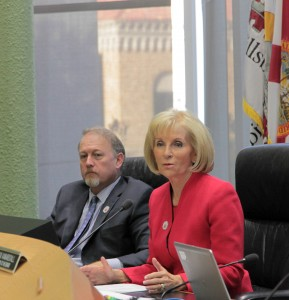 Commissioner Sandy Murman was recently elected by her colleagues to serve as Vice Chairman of the Hillsborough County Board of County Commissioners for 2016-17.