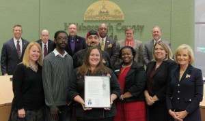 Commissioner Sandy Murman proclaimed Saturday, November 26, 2016 as Small Business Saturday in Hillsborough County, and encouraged residents and visitors to support small businesses and merchants on this day and throughout the year.