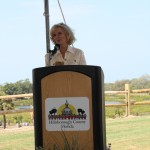 Sandy praises completion of Cockroach Bay restoration project