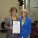 Sandy honors former Commissioner Rose Ferlita for her work with Bully Busters