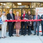 Commissioner Murman was at the Crisis Center of Tampa Bay for a ribbon-cutting event that was a dual celebration of the newly renovated first floor of the Crisis Center and the 25th anniversary of Hillsborough County health care plan.