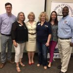 Sandy hosts her Hurricane Prep Talk with the South Tampa Chamber and the Jan K. Platt Regional Library.