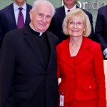 Sandy honors Monsignor Laurence Higgins for his 60 years of service to the Catholic Church and Hillsborough County.