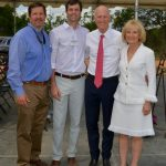 Sandy participates in the New South Windows groundbreaking ceremony with Gov. Rick Scott.