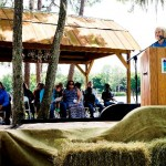 """Commissioner Murman speaks at the first Tampa Bay Child Adoption Education Day event at Old McMicky's Farm to bring attention to the challenges local children have in finding their """"forever families."""""""