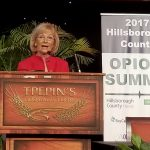 """Sandy hosted the first ever Opioid Summit to create a solution to end the opiate war in Hillsborough County. The goal is """"Zero Deaths"""" and to stop the epidemic that is wreaking havoc on our children and families."""