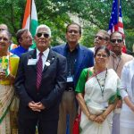Commissioner Murman raised the United States flag, then spoke to the Federation of Indian Associations of Tampa Bay, at the India Cultural Center in Hillsborough County.