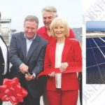 Commissioners Murman and Kemp Tampa Electric Company's (TECO) newest solar array to serve the Apollo Beach community