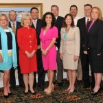 Commissioner Murman helped the South Tampa Chamber of Commerce install its new Board members during their annual meeting.