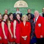 On behalf of the Hillsborough Board of County Commissioners, Sandy proclaimed February 27th through March 9th as the 2014 Florida Strawberry Festival Days.
