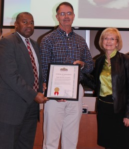 Sandy recognized the Tampa Bay Pilots Association with a commendation for 127 years of service at a Tampa Port Authority Board meeting.