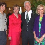 Commissioner Murman recognized Dr. Judy Genshaft, President of USF, with a special commendation at the Palma Ceia Country Club. Former Florida CFO Alex Sink and City Councilman Mike Suarez attended the ceremony.