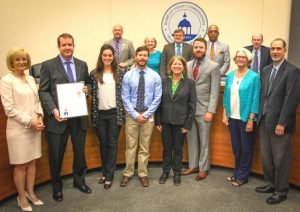 Commissioner Murman proclaimed Water Quality Month to encourage all residents to celebrate water quality awareness and to take action to protect water resources.