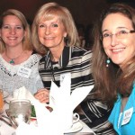 Commissioner Sandy Murman attended a special Women of Influence luncheon at A La Carte Pavillion. Pictured with Sandy are Sandra Hinckley and Karen Buesing.