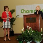 Sandy honors Champions for Children, which has provided quality, research-based early childhood education and prevention services to the children and families of Hillsborough County. News Channel 8's Gayle Sierens was on hand to honor the organization.