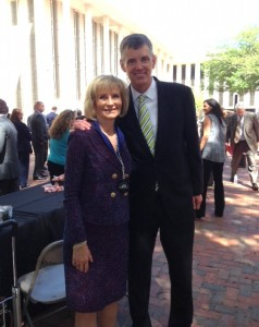 County Commission Chairman Sandy Murman was in Tallahassee supporting Hillsborough County Day 2015 along with John Thorington from Port Tampa Bay.