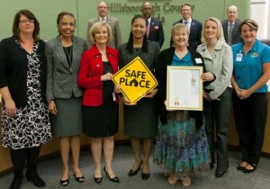 Commissioner Sandy Murman proclaimed Safe Place Week in Hillsborough County and encouraged residents to offer assistance to young people in crisis.