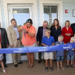 Sandy attended the ribbon cutting ceremony for the Suncoast Youth Conservation Center in Apollo Beach. On hand for the ceremony were Gil McRae of Suncoast, State Rep. Dana Young, FWC Commissioner Brian Yablonski, Thom Stork of the Florida Aquarium, Tom Hernandez of TECO, Jack Payne of UF, Richard Corbett of FWFF, and Kathy Guindon of Suncoast.