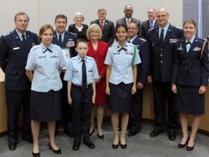 Commissioner Sandy Murman recognized the Civil Air Patrol on the occasion of its 75th Anniversary, and honored all its members for their courage and service.